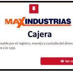 Recluta: maxindustrias.com