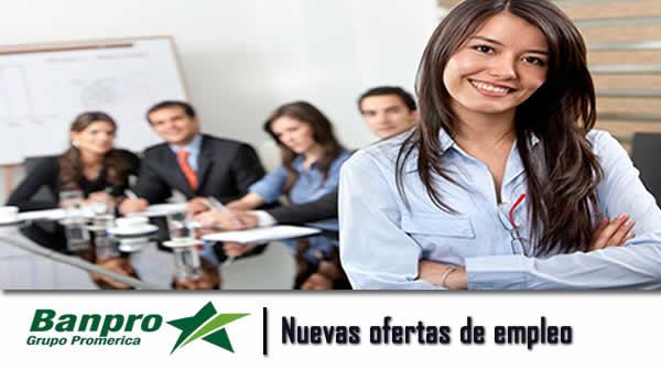 Nuevas ofertas de empleo banpro nicaragua