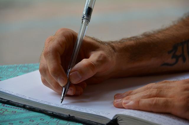 Escrevendo Trabalhar no Exterior