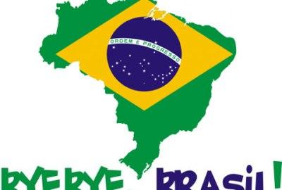não quero voltar para o Brasil