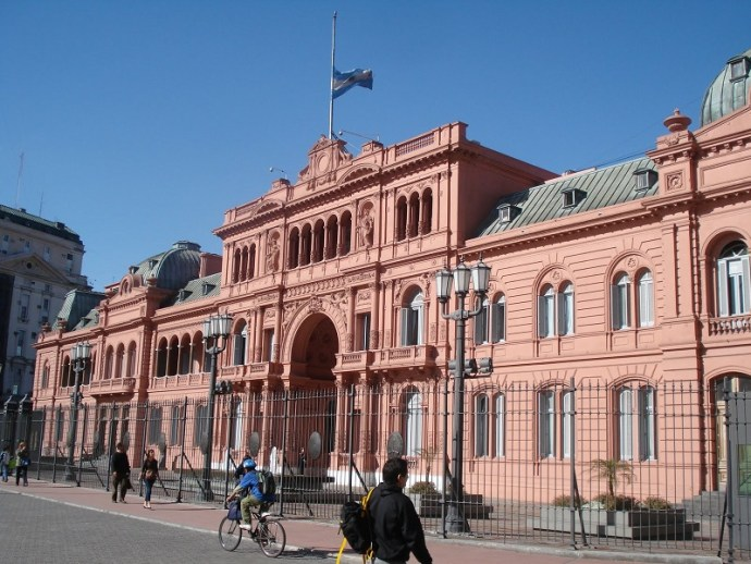 morar na Argentina - casa rosada