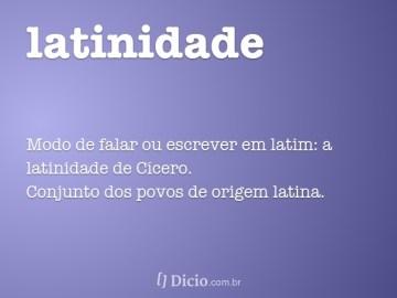 Resultado de imagem para Dia da Latinidade