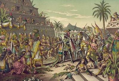 Conquista do Império Asteca.