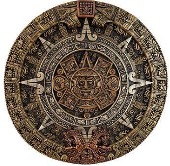 Calendário da cultura asteca.