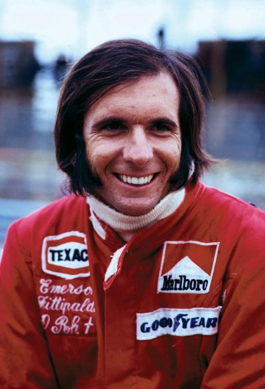 atleta Emerson Fittipaldi