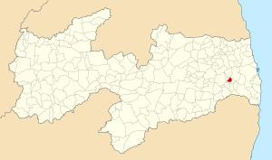 Localização de Riachão do Poço