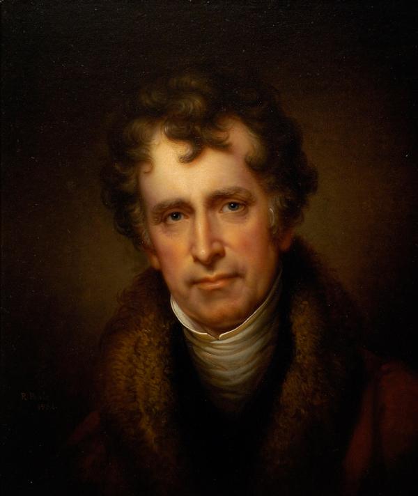 Retrato de Rubens Paele por Rembrandt