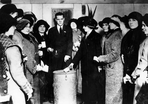 O dia 24 de fevereiro de 1932 é considerado o marco do direito ao voto feminino - Créditos: Foto: Reprodução