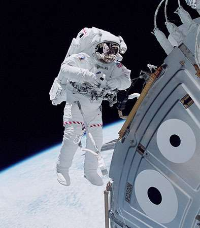 exploração do espaço