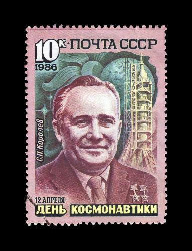 Sergei Korolev foi o cientista responsável pelo projeto que levou os soviéticos a lançarem o primeiro satélite.