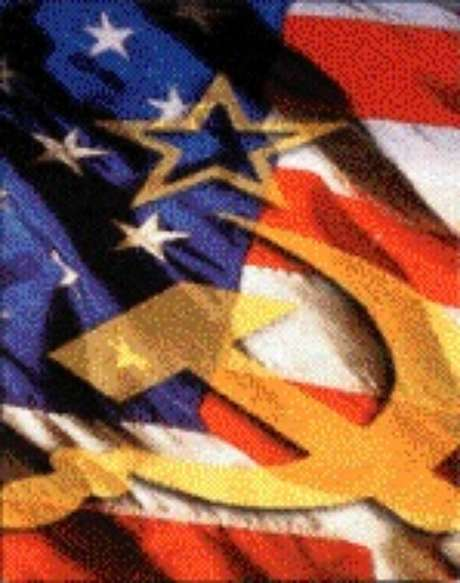 EUA e URSS se enfrentaram na chamada Guerra Fria.