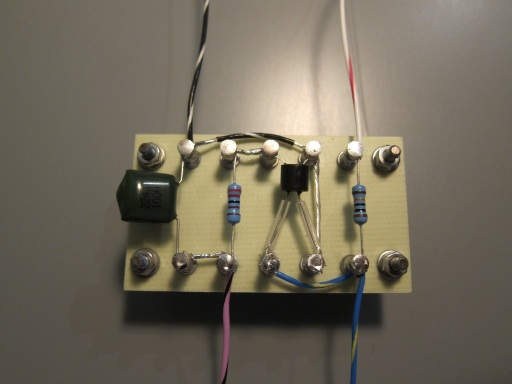 medium resolution of remote wah turret board