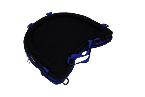 Trabasack Curve Connect bag and tray with blue trim