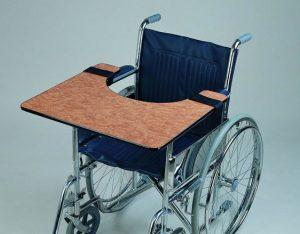 polycarbonate wheelchair trays