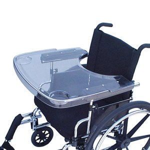 clear plastic wheelchair trays