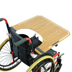 wooden wheelchair trays