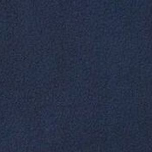 Image is a close-up photo of a swatch of navy blue fleece fabric used for the Seenin fleece total wheelchair cover