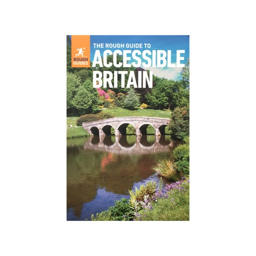 "Image is a photograph of the ""Accessible Britain"" guide book"