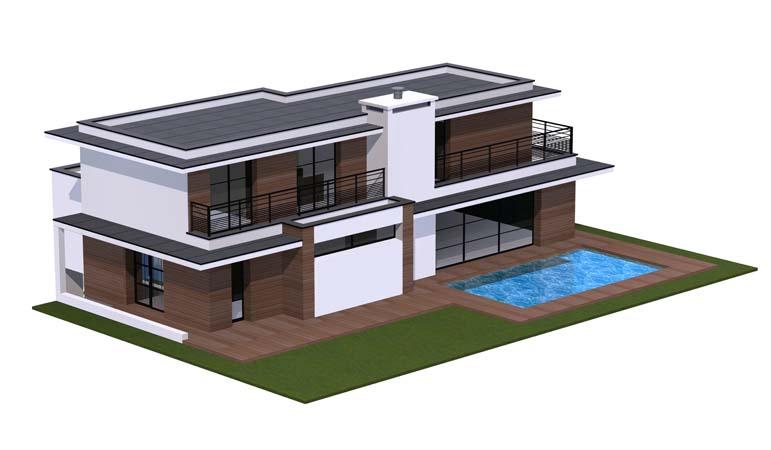 Maison contemporaine 12 constructeur de maison haut de gamme finistere et morbihan for Maison haut de gamme