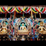 Photography travel coorg golden temple