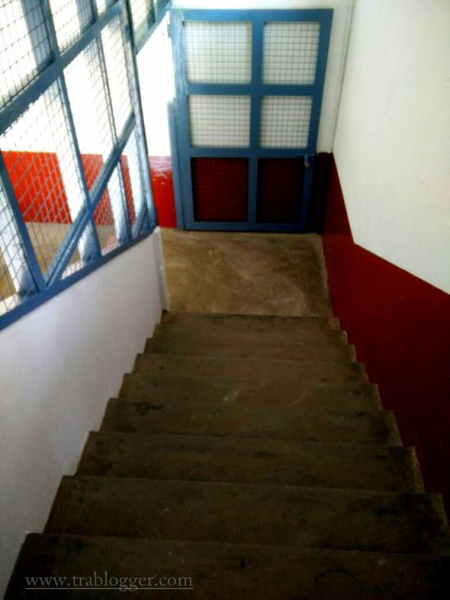 College stairs