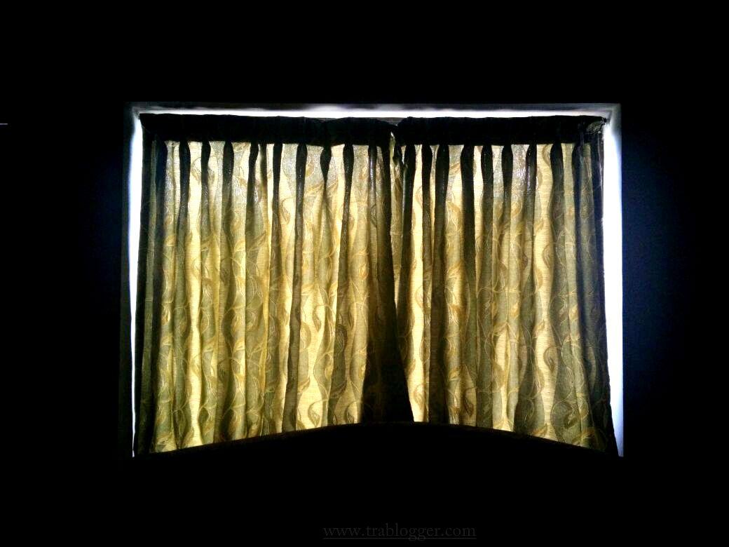 Light through the curtain