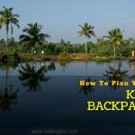 kerala trip planning
