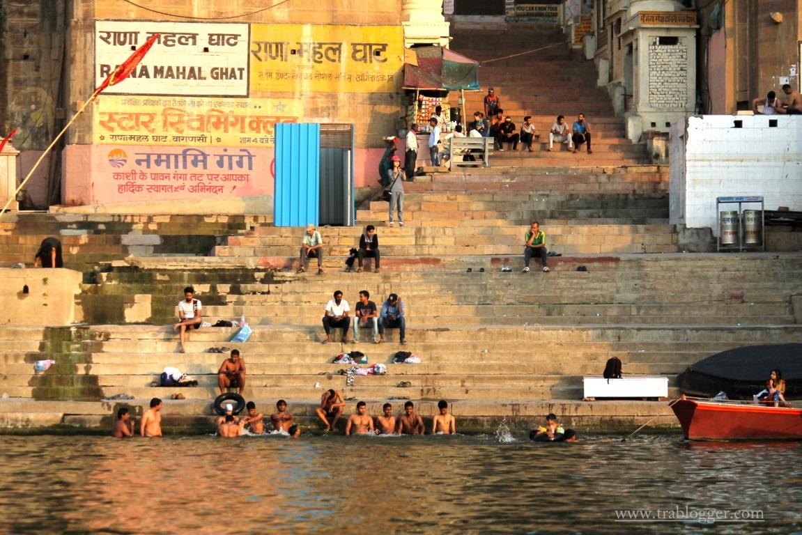 Varanasi Swimming