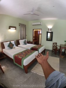 Welcome to my room in Heritage Resort Hampi