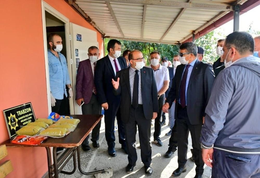 Trabzon'da 3 kilo 270 gram bonzai ele geçirildi