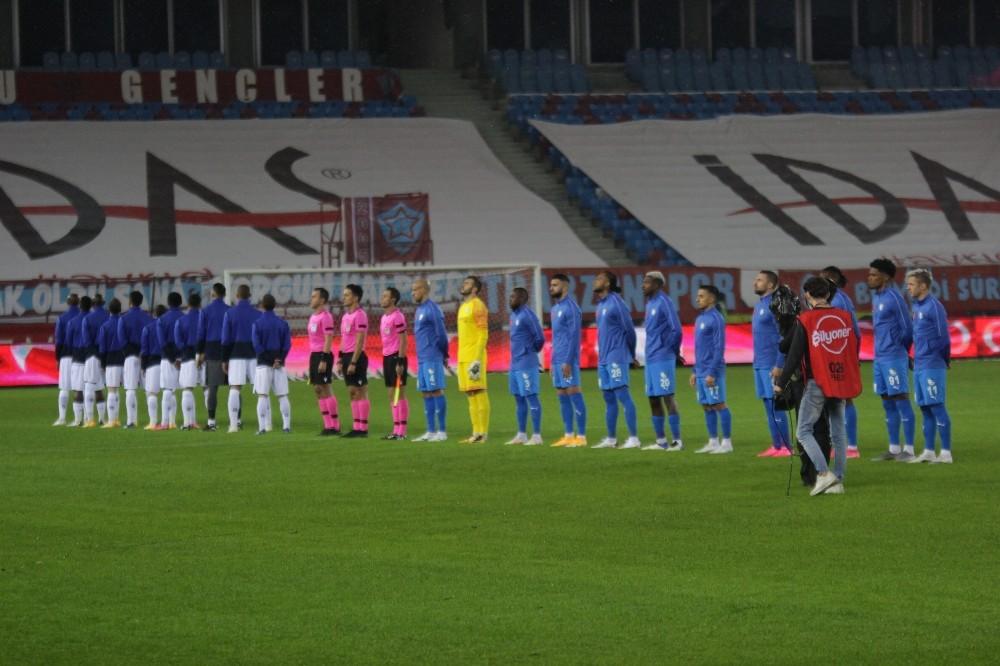 Süper Lig: Trabzonspor: 1 – Büyükşehir Belediye Erzurumspor: 0