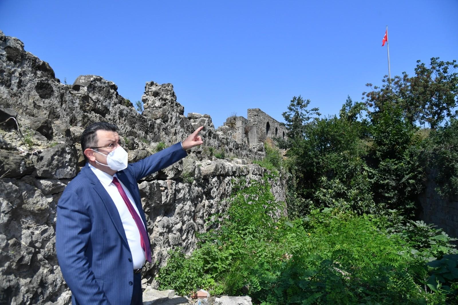 """Ortahisar Belediye Başkanı Genç: """"İçkale'de saklı tarih var"""""""