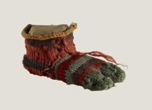 Child's Sock, © Trustees of the British Museum