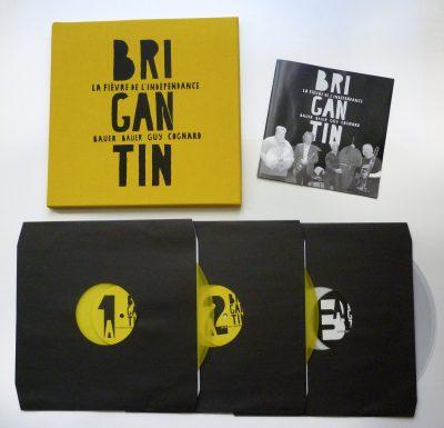 Brigantin (Bauer, Bauer, Guy, Cognard) - La fièvre de l'indépendance - vinyl Box set