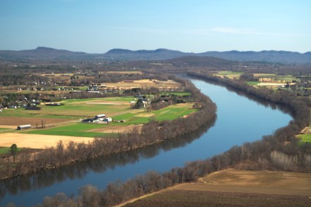 View from Mt. Sugarloaf of the Pioneer Valley