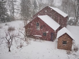 February - Snow Barn in Ludlow, MA