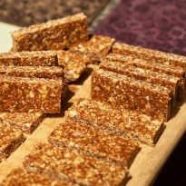 Homemade chewy granola bars — copyright Trace Meek