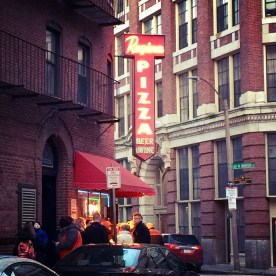 Regina Pizza, in Boston's North End — copyright Trace Meek