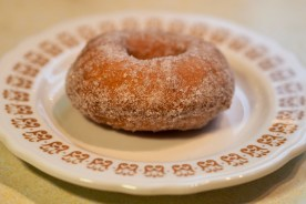 Perfect cider doughnut — copyright Trace Meek