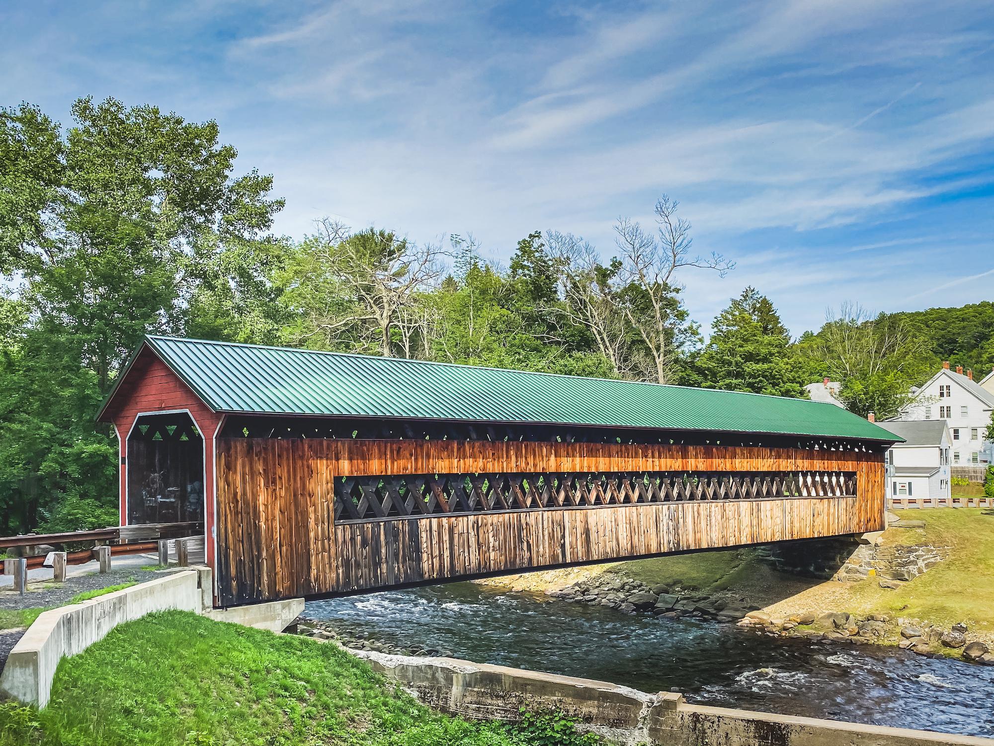 Covered Bridge, Ware, Massachusetts