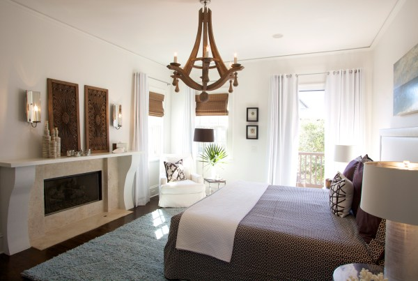 master bedroom chandelier [before & after] Rosemary Beach master bedroom   Our Blog