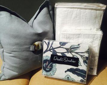 Samara Duvet Cover & White Quilt Set