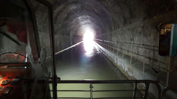 Tunnel du Malpas, canal du midi