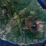 carte du sud de la Réunion