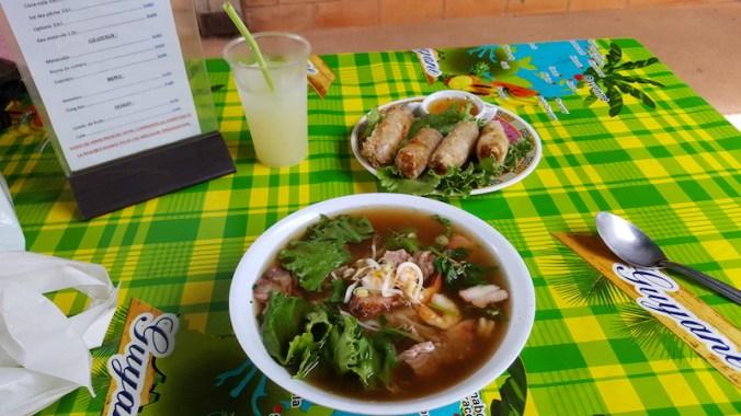 repas au marché