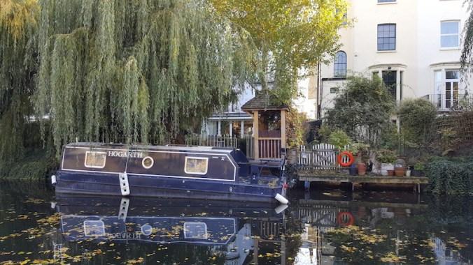 Regent's Canal, dans Regent's Park