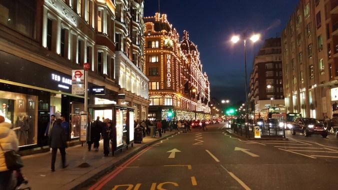 Grand magasin Harrods, sur Brompton Road