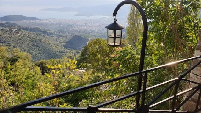 Makrinitsa, panorama