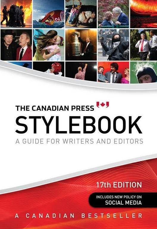 The Canadian Press Stylebook Book Cover