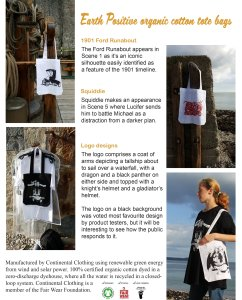 Illustrated book bags